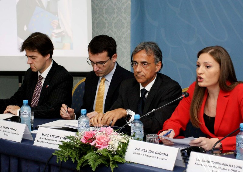 OSCE helps female parliamentarians re-establish caucus in Albanian Assembly