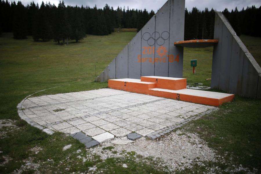 Sarajevo Olympic venues crumble into oblivion