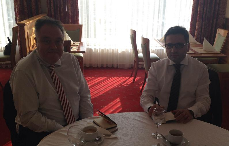 British MEP Howitt received by the Minister of Integration of FYROM