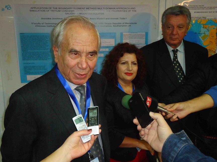Academic from FYROM and Albania meet in a conference