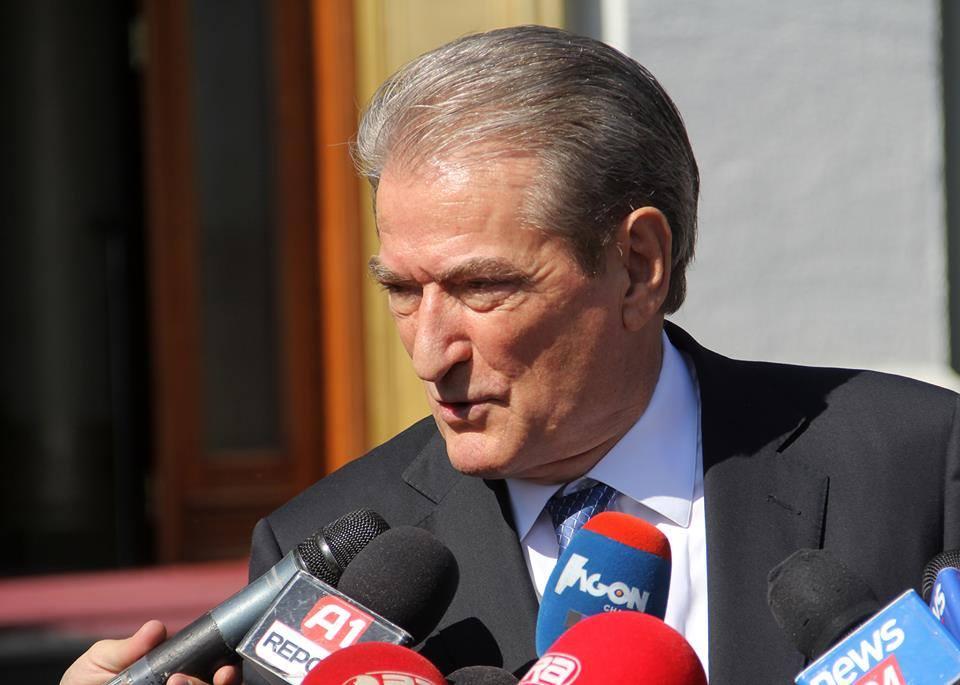 Former Premier Berisha: The new Albanian majority is applying Papandreu's old scenario