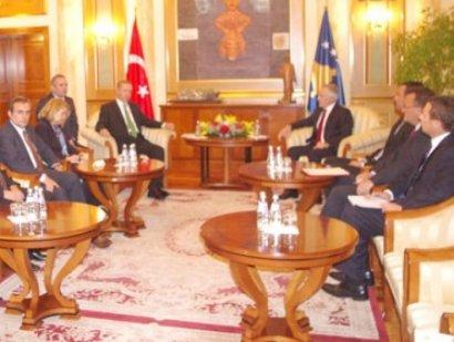 Speaker of parliament receives Turkish Prime Minister Erdogan
