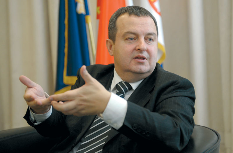 PM Dačić at odds with businessman and possibly with coalition partner