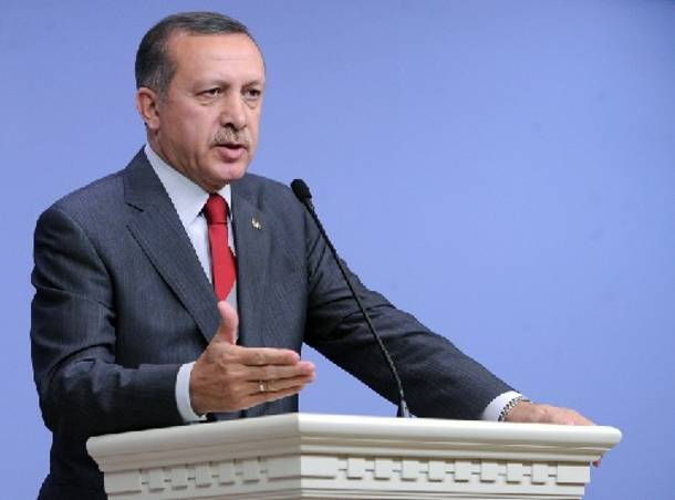 """Erdogan says """"I would bring down to mosque to build a road"""""""