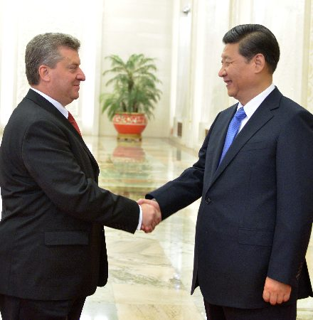 Ivanov and a part of the ministers hold a visit to China