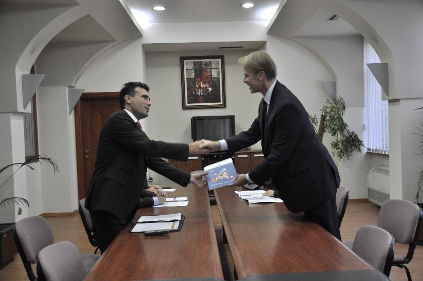 Zaev-Orav: FYROM has no other alternative than the EU