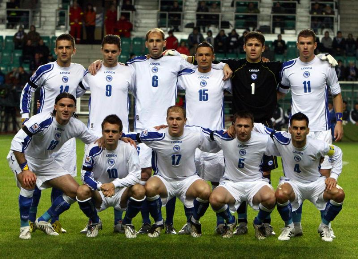 A historical day for B&H's national football team