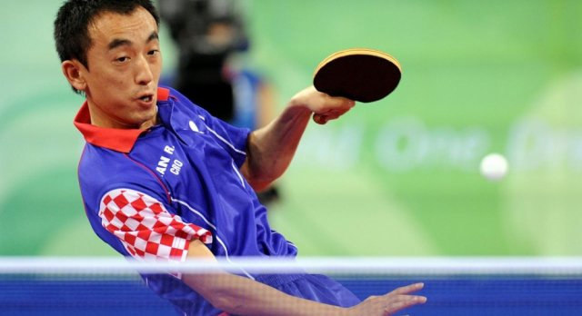 Chinese champion wins the gold for Croatia in table tennis