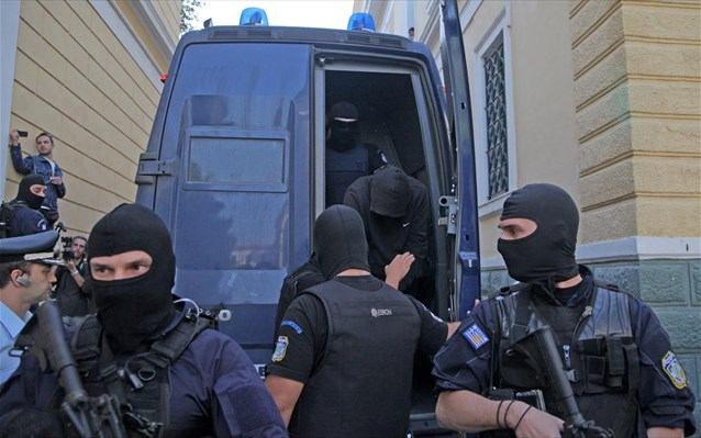 Murderer of Pavlos Fyssas before judicial authorities