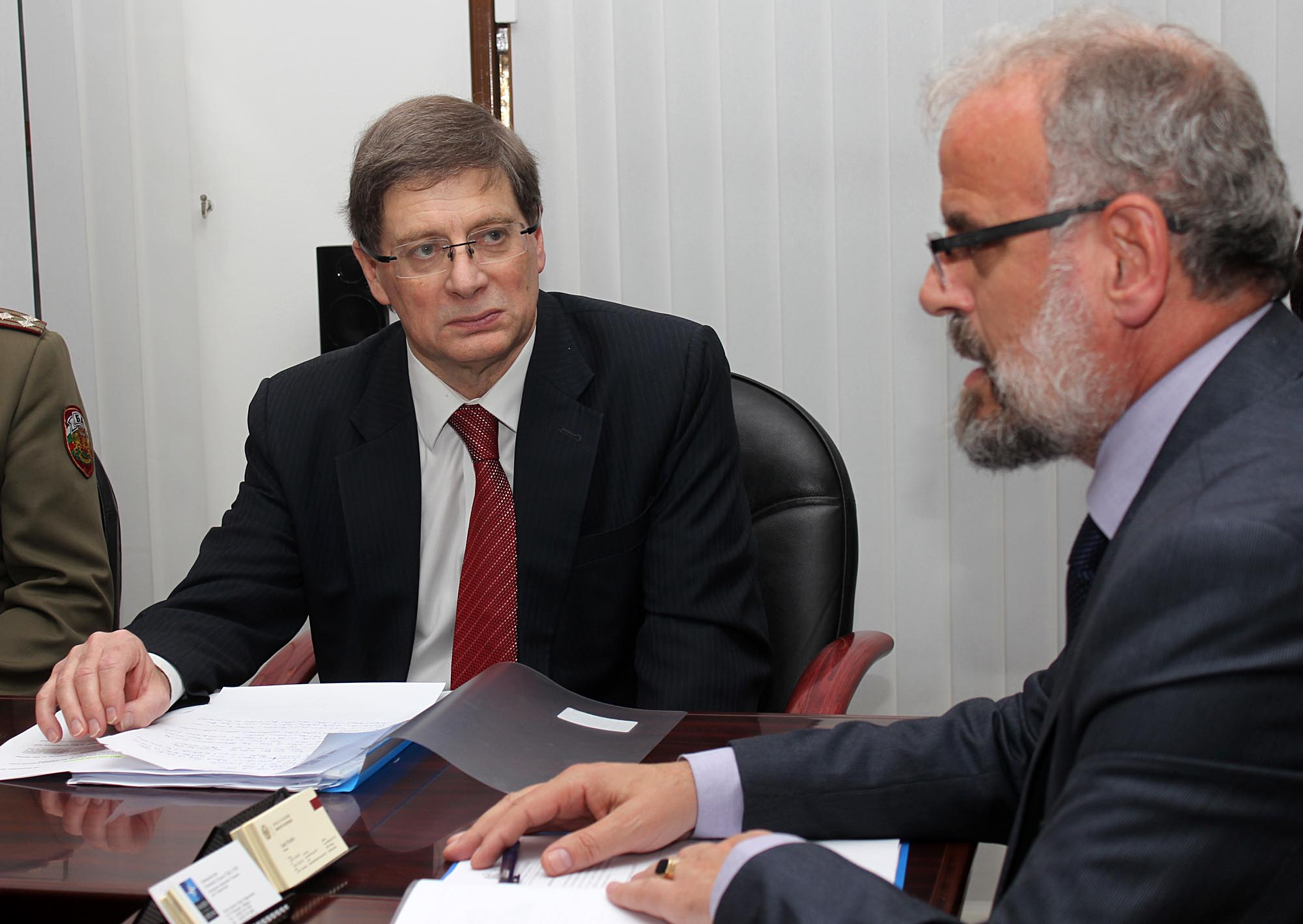 Evans: NATO values FYROM's presence in peacekeeping missions