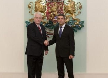 Bulgarian, Croatian presidents pledge to work for stepped-up economic co-operation