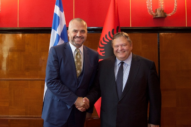 Premier Rama receives Greek Foreign Minister Venizellos: Albania and Greece have reached a new phase of collaboration