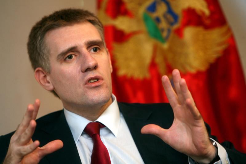 Montenegrin FM visits Slovenia