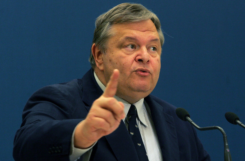 Venizelos to meet with the Palestinian Authority