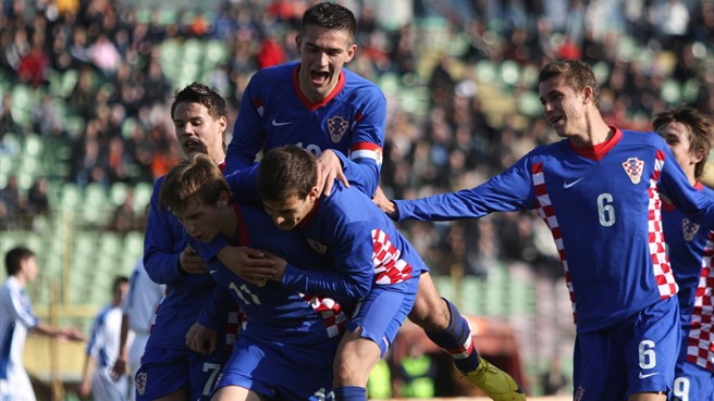 The Croatian football team in the U-17 World Cup