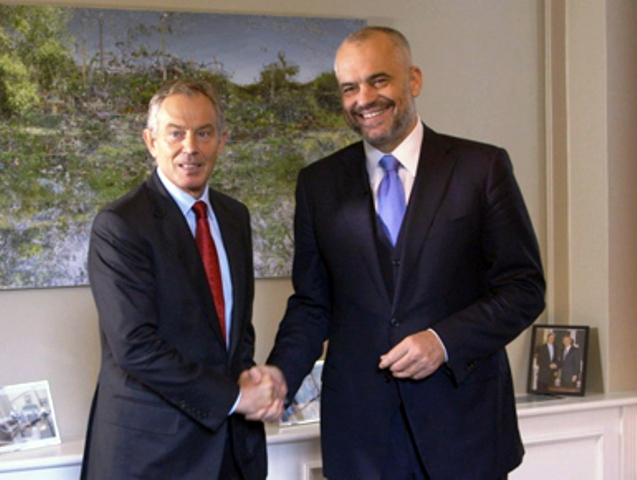 PM Rama: Blair's at our service voluntarily