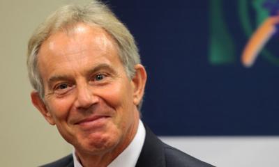 Tony Blair invited in the Peace Festival in Skopje