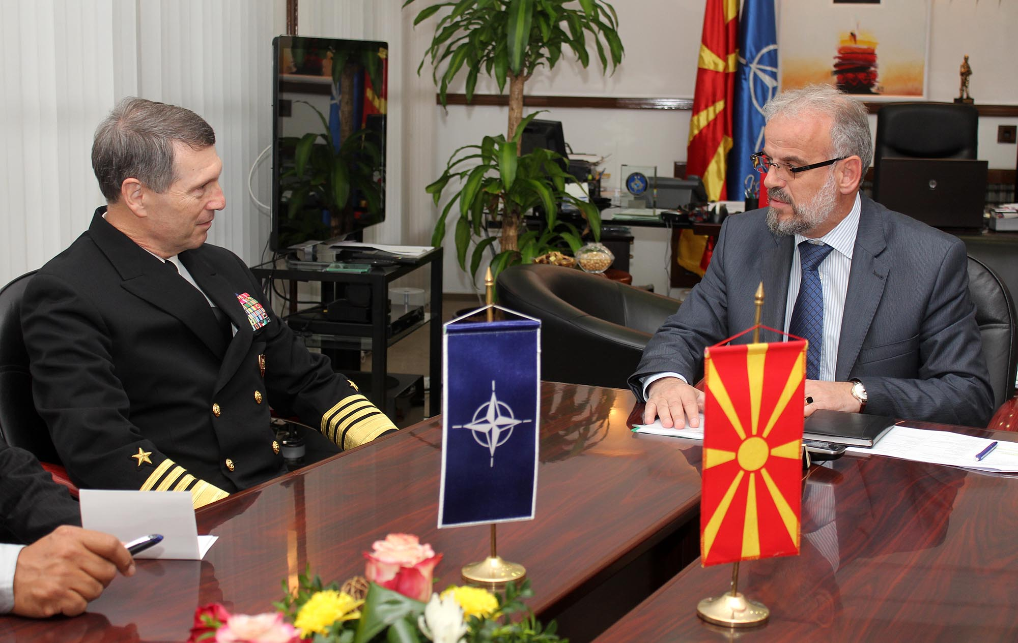 Klingan: Armed Forces of FYROM are offering a contribution in the NATO missions