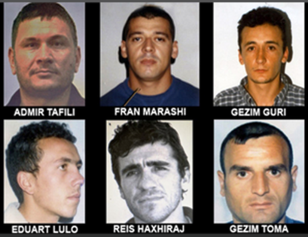 Police capture all 7 fugitives from the prison of Drenova