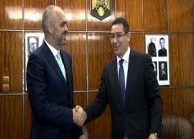 Rama-Ponta: Romania supports Albania's integration