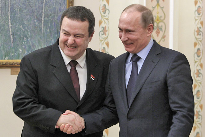 """West has shifted Serbia towards Russia"""