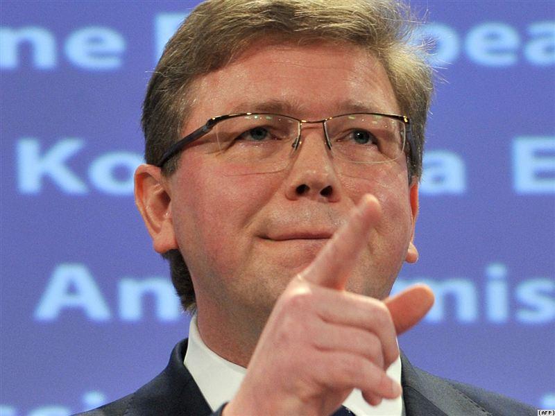 Serbia-EU accession talks depend on Kosovo, Füle says