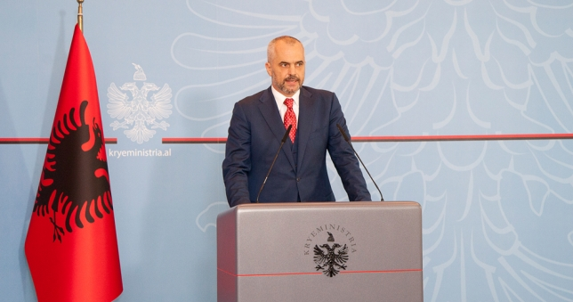 Prime Minister Rama announced the decision, Albania will not accept Syria's chemical weapons