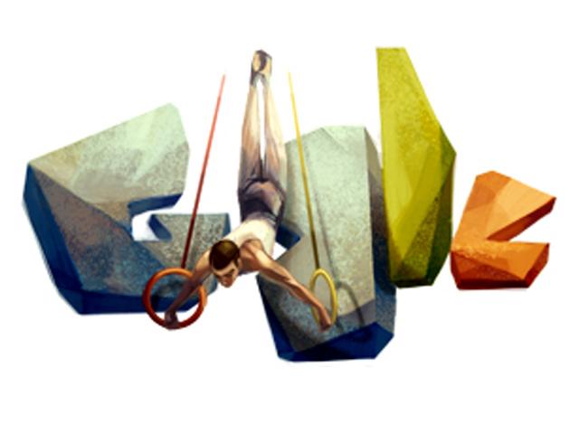 Google honours Slovenian gymnast Leon Štukelj