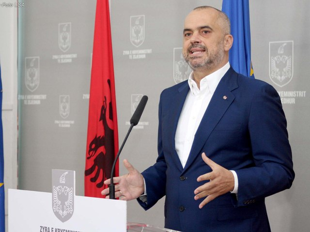 Level of education is low, says the Albanian PM
