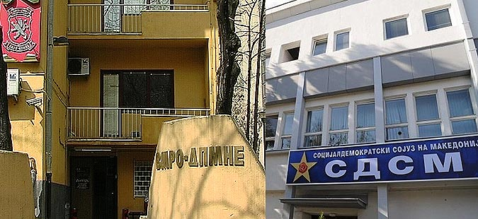 VMRO-DPMNE and LSDM clash over social issues