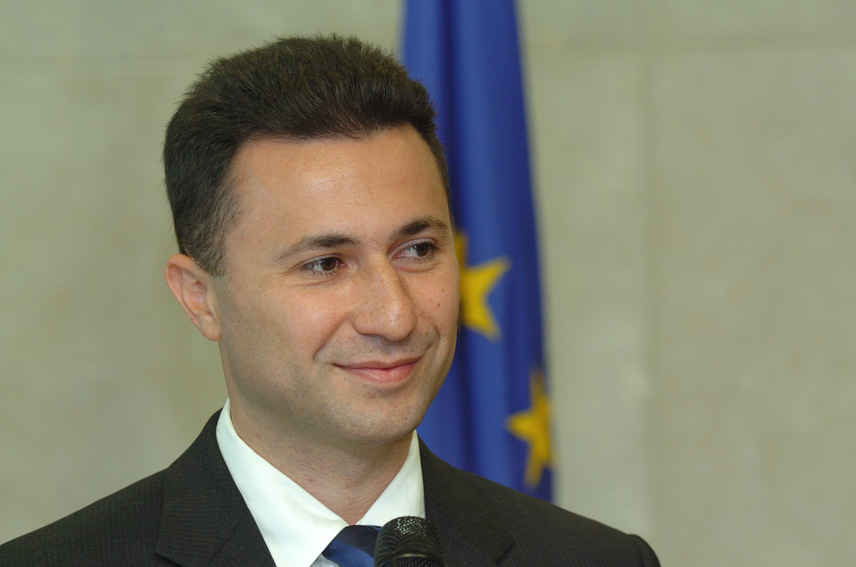 Premier Gruevski visits Ljubljana
