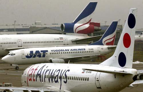 Fewer passengers for Jat Airways in October