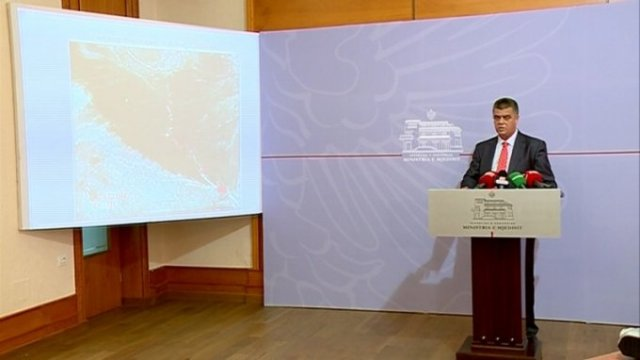 We still don't know if they are chemical weapons or chemical substances, says Albanian Minister of Environment