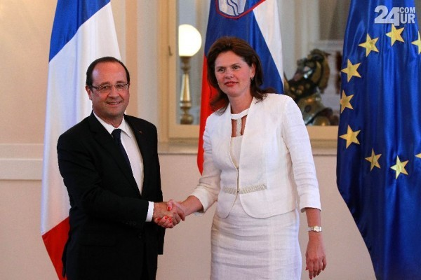 Slovenian PM attends EU conference in Paris