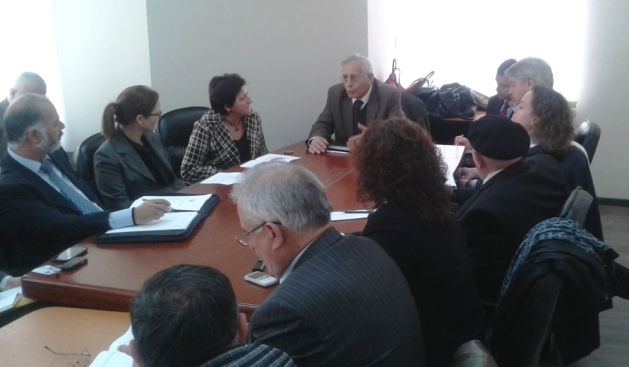 Families of the missing Cypriots hold a visit to Kosovo