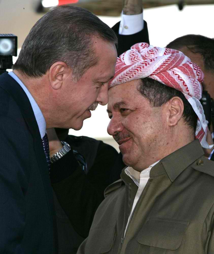 Erdogan to meet with Barzani in Diyarbakir