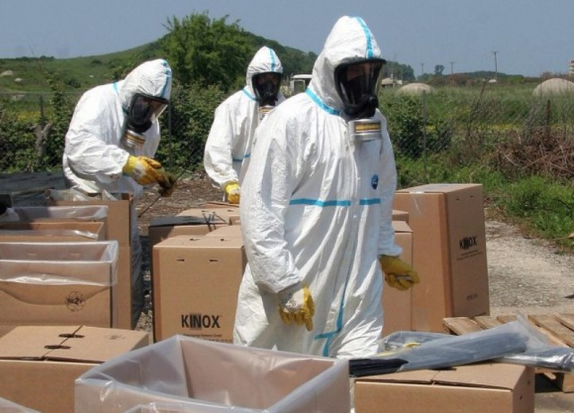 Pros and cons of the possibility of the destruction of chemical weapons in Albania