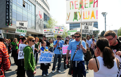 Anti-government protest to take place tomorrow in Skopje