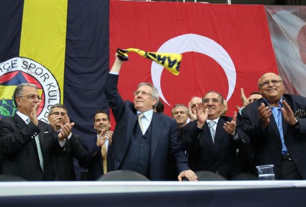 Aziz Yildirim remains president of the Fenerbahce FC