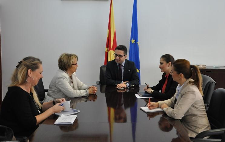 Minister of Integration meets Pack MEP