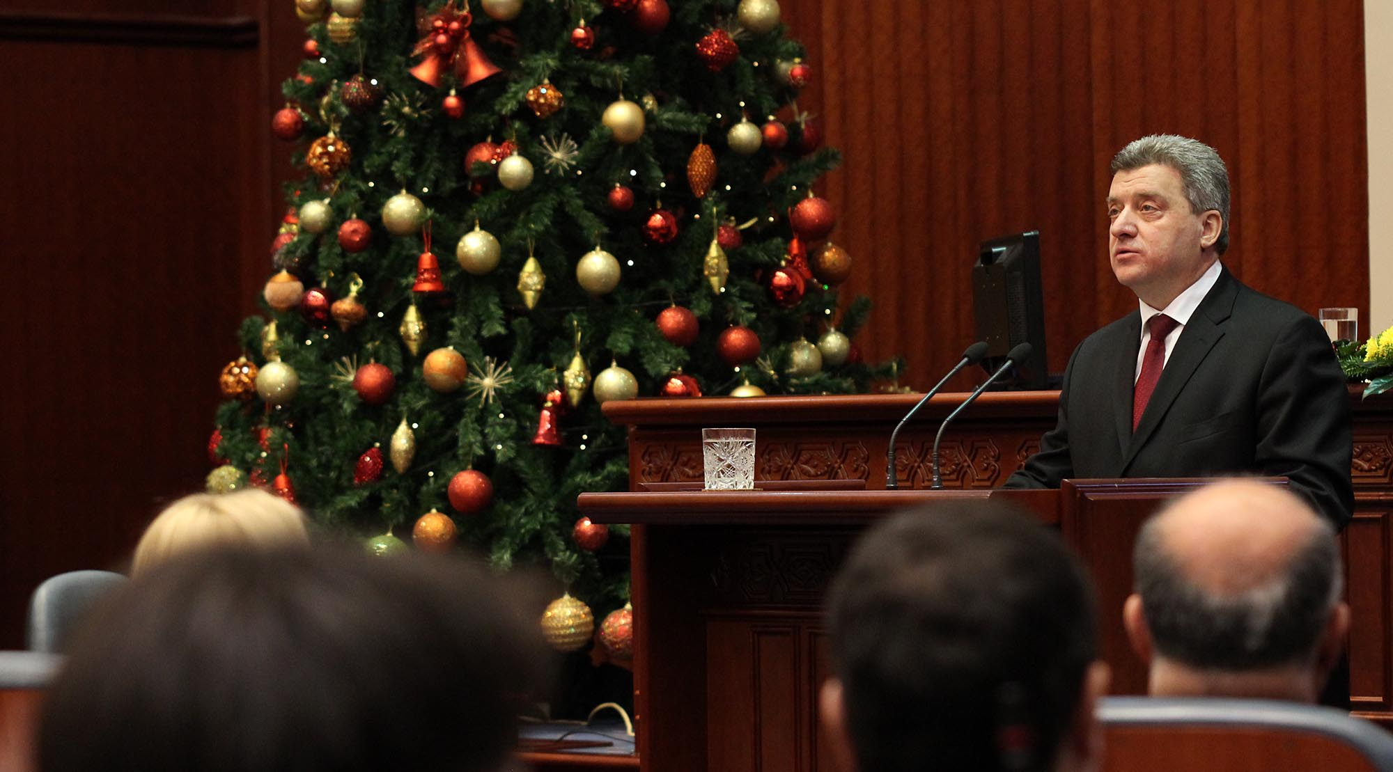 President Ivanov encourages NATO and EU to have faith on FYROM