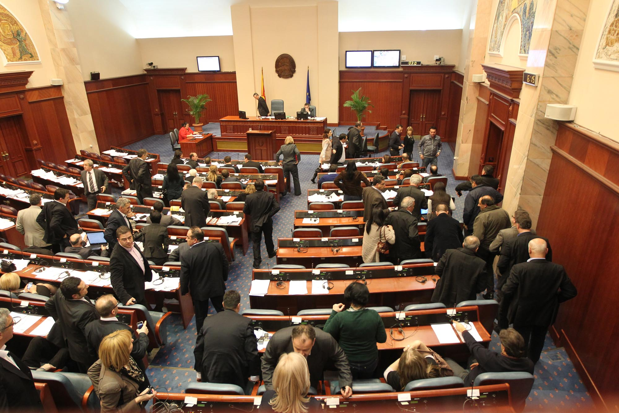 Parliament in FYR Macedonia votes the 2014 budget