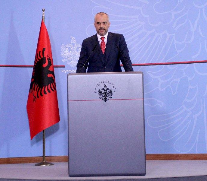 Prime Minister of Albania criticizes EU on the refusal of the status