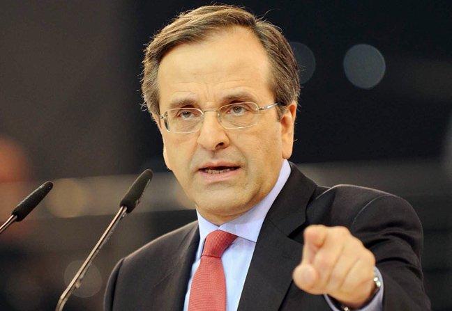 A. Samaras rules out triple election scenario