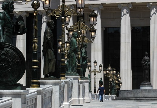 """15 illegal monuments in the framework of """"Skopje 2014"""" provoke tensions"""
