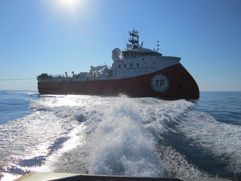 """Turkish vessel """"invades"""" Famagusta sea"""