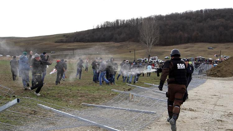 Chevron meets strong resistance from Romanian peasants