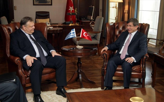 Davutoglu visits Athens first, then occupied Cyprus
