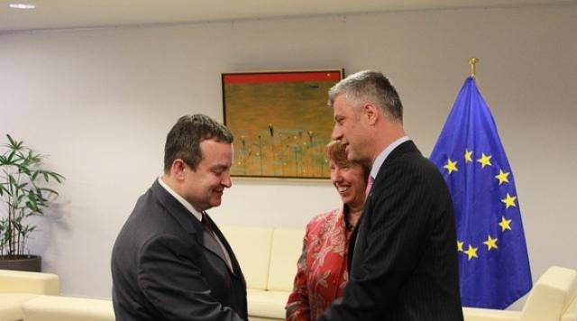 Thaci and Dacic meet in Brussels again