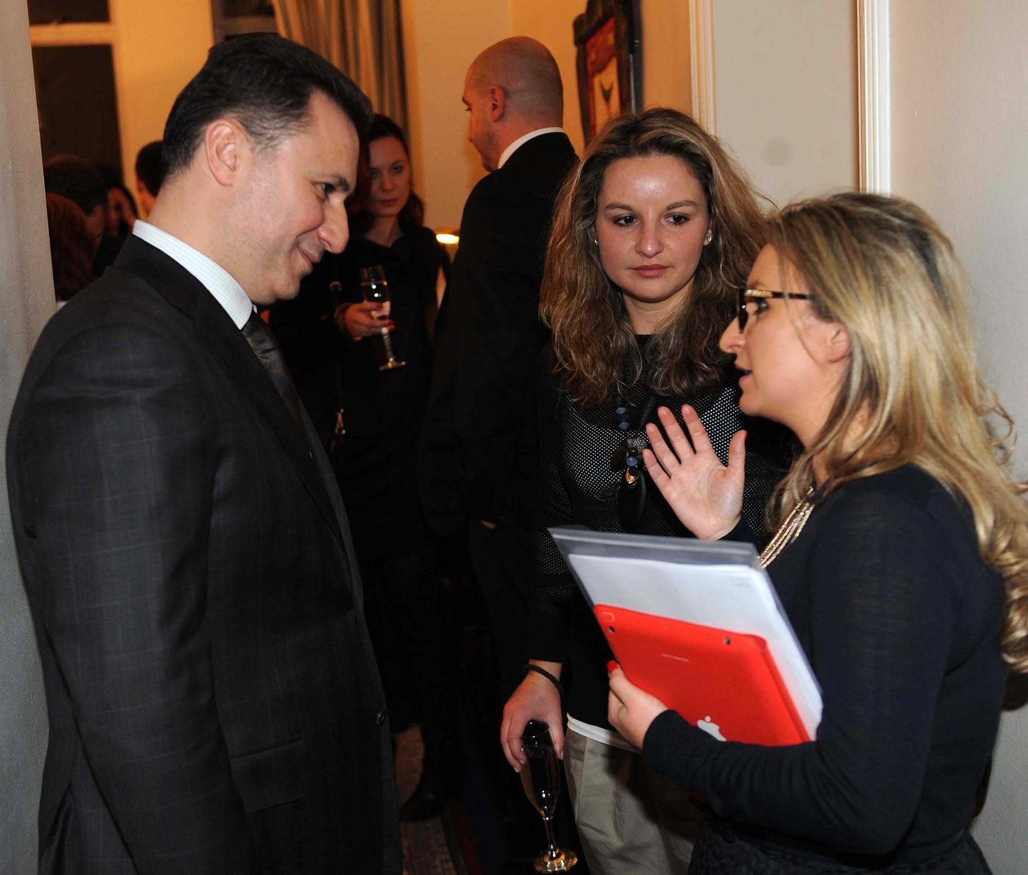 Gruevski in London and Paris for investments